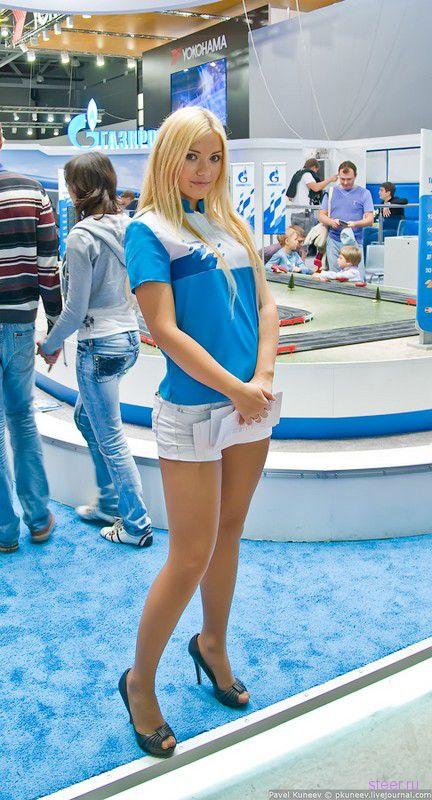 фото красивых девушек в москве летом #13