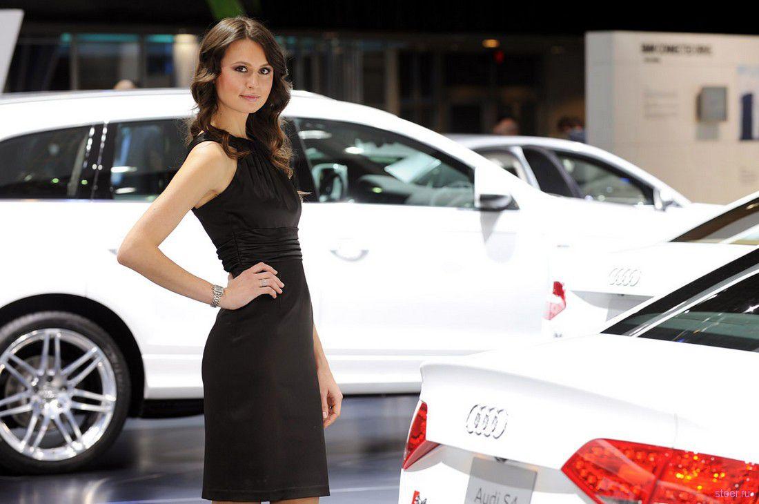 автосалоне девочек #11