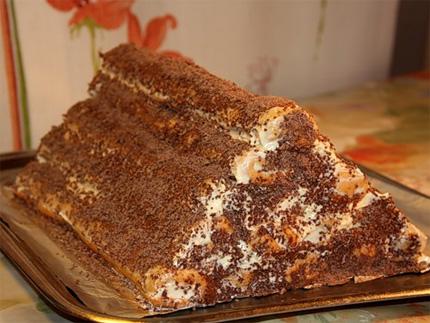 Рецепт: торт Монастырская изба »  - Рецепты на  www.pokushal.ru