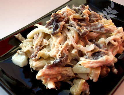 Рецепт салата из феты