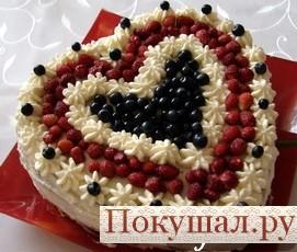 Торт с бананамииз пряников – рецепт на скорую руку, не требующий выпечки - Рецепты наwww.pokushal.ru